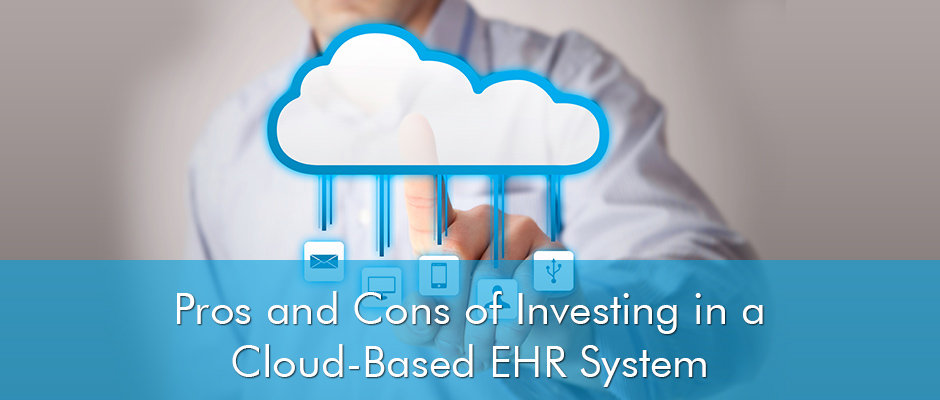 Clinicians have been using Electronic Health Records for quite a while, but one question they can't get over is whether a cloud-based system is better than an on premise or not. Cloud-based systems may be comparatively new in the market but their benefits are immense. Not only they are economical, they can also be accessed from anywhere and at any time. Yet many people favor the on premise systems reasoning that the cloud-based EHRs are not secure enough. So here are a few pros and cons of cloud-based EHR systems Advantages • Cloud-based systems are a cost effective option for solosmall practices • You don't have to install a server software or purchase a hardware and maintain them • Cloud-based systems come with better customer support • There are less up-front payment for licensing • Cloud-based systems offer easier transition to different systems • They are easy to set up • Cloud-based systems come with more sophisticated security measures for protection of patient's medical data • Not necessary for a practice to meet the HIPAA regulations if the software vendor meets them • There is more responsibility on the software vendor to meet Meaningful Use requirements than the medical practice • Cloud-based systems are an excellent option for physicians who travel a lot and are not office-based. Disadvantages • Cloud-based systems offer limited customizability • They may have latency or lag time accessing information from across the web • Patient data can be compromised in cases it is mixed with other patients • Security and backups are at the mercy of the vendor • For long time usage, they are more expensive than on premise systems • The host will control all your patient medical data • Medical practice will not be able to work without a steady internet connection • There is a danger of losing medical data if the vendor closes business operations • Bandwidth may also be limited by practice's internet connection Here we observed some of the advantages and disadvantages of cloud-based health IT systems. Many experts are of the opinion that with the improvement of technology, the US Health IT industry will be dominated by the cloud-based systems in the years ahead. The web-based systems are steadily being more secure and internet is reaching the furthest rural corners of the country. Considering the latest advancements, one can be quite certain that most of the cons listed above may eventually disappear in the future. Regardless the forecasts and predictions, we think that it is always better to have an expert opinion on the perfect Health IT system because it's an investment that can affect your business significantly. Therefore, if you need any guidance regarding the matter at hand, the experts at EMR Finder will be more than happy to help you out.