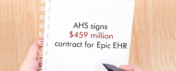 AHS signs $459 million contract for Epic EHR