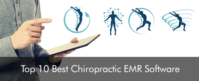 Top 10 US Ranked Chiropractic EMR Software