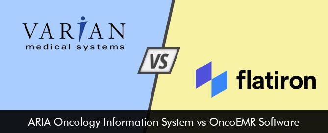 ARIA vs OncoEMR Oncology EMR Software Comparison