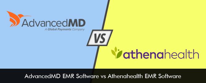 AdvancedMD EMR Software vs Athenahealth EMR Software Comparison