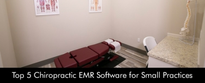 Top 5 Chiropractic EMR Software for Small Practices