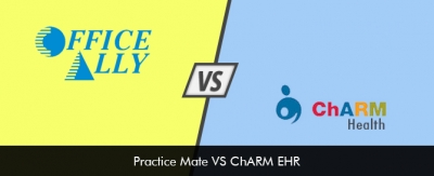 Practice Mate VS ChARM EHR Software Comparison 2019