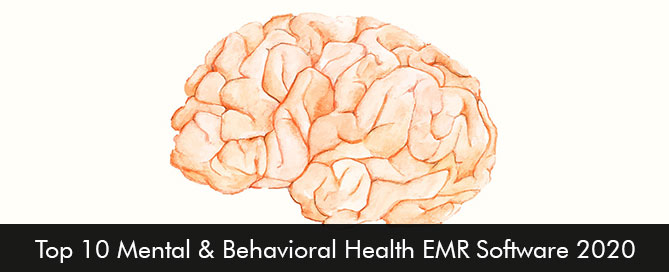 Top 10 Mental and Behavioral Health EMR Software 2020