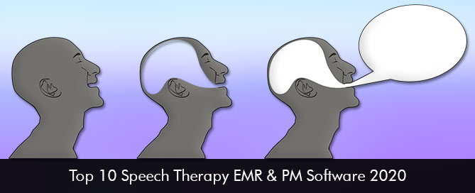 Top 10 Speech Therapy EMR and PM Software 2020
