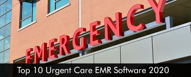 Top 10 Urgent Care EMR Software 2020