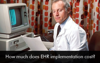 How much does EHR implementation cost 2020