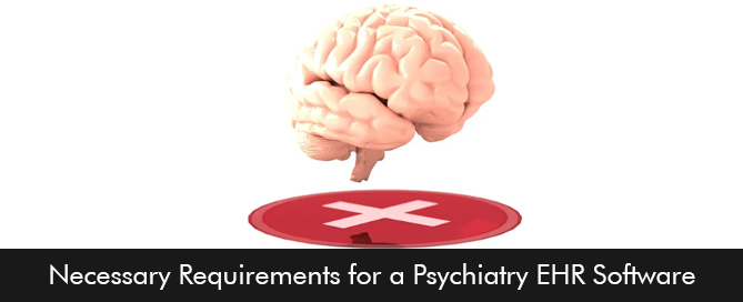 Necessary Requirements for a Psychiatry EHR Software