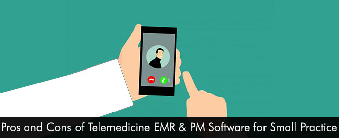 Pros and Cons of Telemedicine EMR Software for Small Practice Physicians to Consider