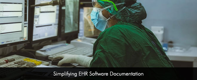 Simplifying EHR Software Documentation