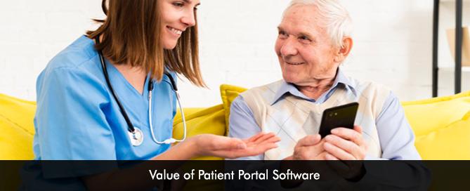 Value of Patient Portal Software